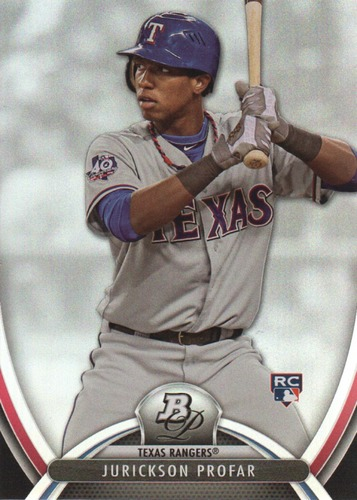 Photo of 2013 Bowman Platinum #100 Jurickson Profar Rookie Card
