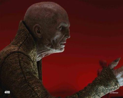 Rey and Supreme Leader Snoke