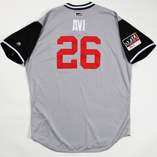 "Photo of Avisail ""Avi"" Garcia Chicago White Sox Game-Used Jersey 2018 Players' Weekend Jersey"