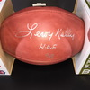 HOF - Browns Leroy Kelly Signed Authentic Football