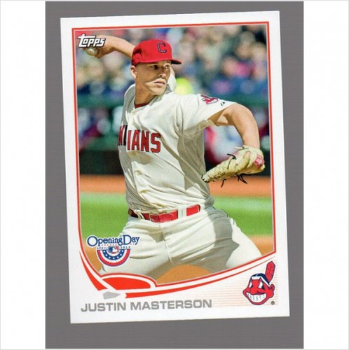 Photo of 2013 Topps Opening Day #64 Justin Masterson