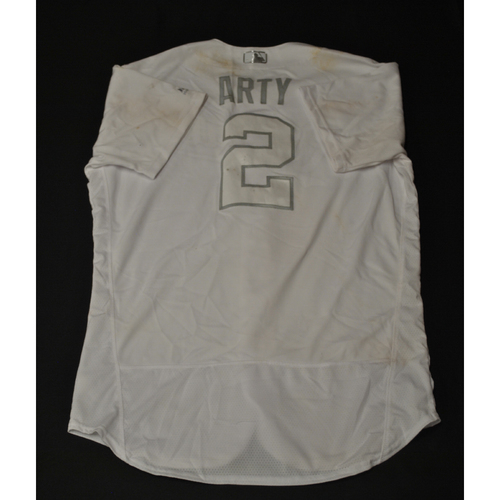 "Photo of Humberto ""ARTY"" Arteaga Kansas City Royals Game-Used 2019 Players' Weekend Jersey"