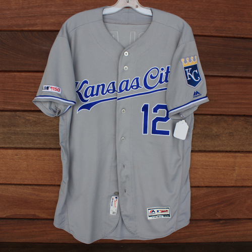 Photo of Game-Used Jersey: Jorge Soler 41st Home Run of 2019 Season (Size 44 - KC @ MIA - 9/7/19)