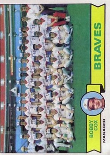 Photo of 1979 Topps #302 Atlanta Braves CL/Bobby Cox MG
