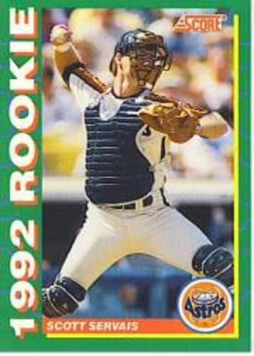 Photo of 1992 Score Rookies #36 Scott Servais