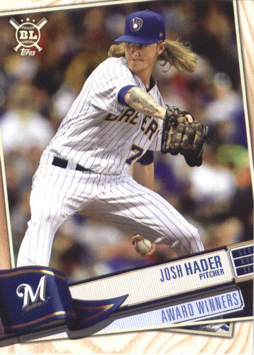 Photo of 2019 Topps Big League #378 Josh Hader