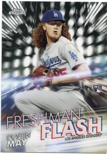 Photo of 2020 Topps Chrome Freshman Flash #FF4 Dustin May
