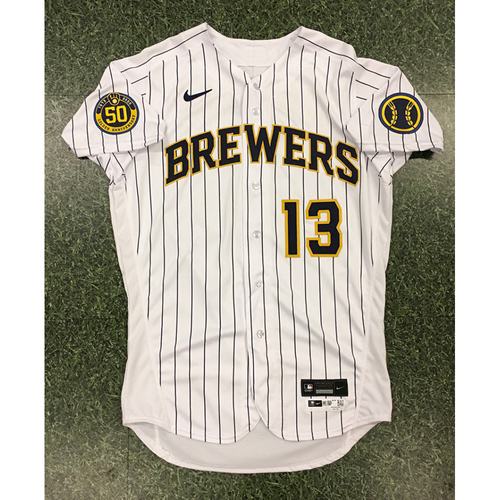 Photo of Mark Mathias 2020 Team-Issued Home Pinstripe Jersey
