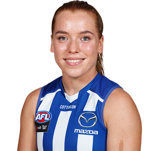 Photo of LOT ZZ - 2021 AFLW AWAY GUERNSEY - MATCH WORN BY MIA KING #23