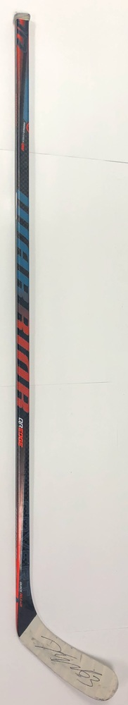#63 Tyler Ennis Game Used Stick - Autographed - Edmonton Oilers