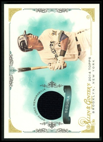 Photo of 2014 Topps Allen and Ginter Relics #FSRJS Jean Segura A