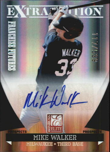 Photo of 2011 Donruss Elite Extra Edition Franchise Futures Signatures #179 Mike Walker