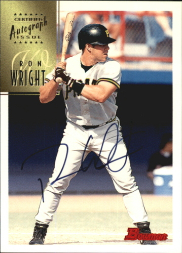 Photo of 1997 Bowman Certified Black Ink Autographs #CA88 Ron Wright