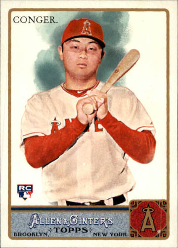Photo of 2011 Topps Allen and Ginter #277 Hank Conger RC