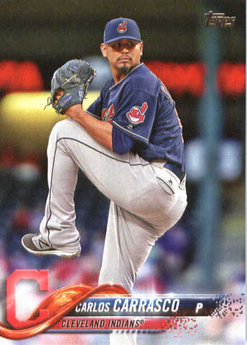 Photo of 2018 Topps #120 Carlos Carrasco