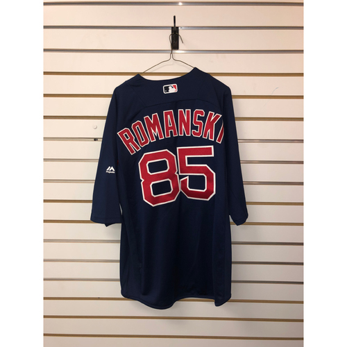 Photo of Jake Romanski Team-Issued Road Batting Practice Jersey