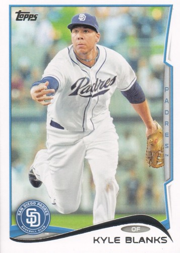 Photo of 2014 Topps #640 Kyle Blanks