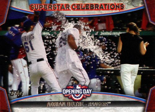 Photo of 2015 Topps Opening Day Superstar Celebrations #SC24 Adrian Beltre
