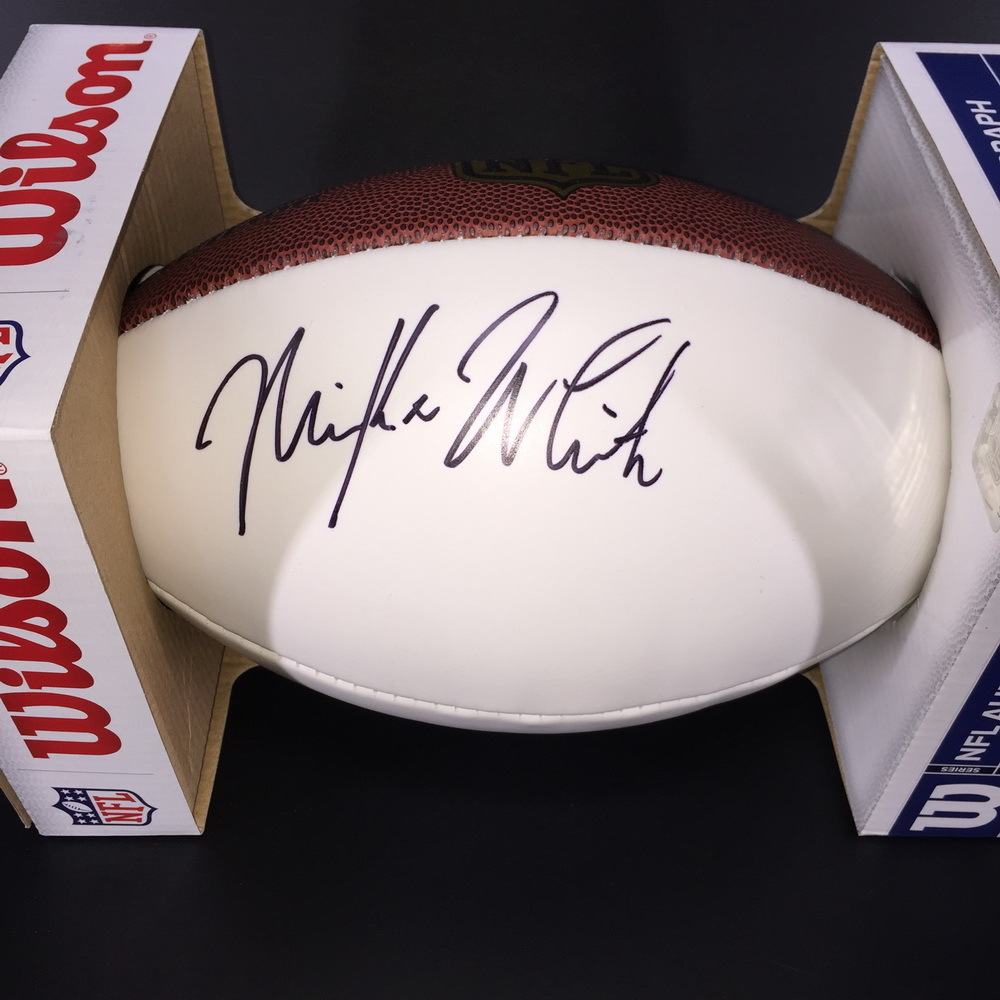NFL - Jets Mike White Signed Panel Ball