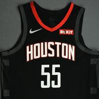 Isaiah Hartenstein - Houston Rockets - Game-Worn Statement Edition Jersey - NBA Japan Games - 2019-20 NBA Season