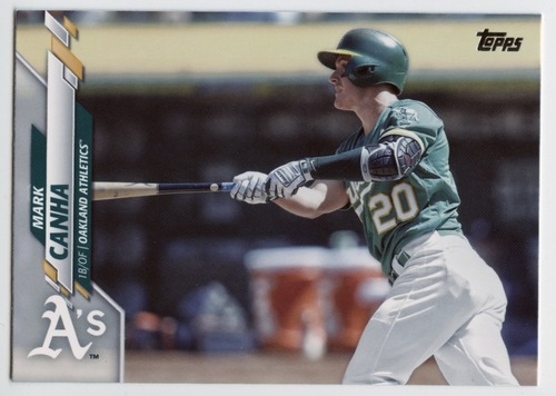 Photo of 2020 Topps #474 Mark Canha