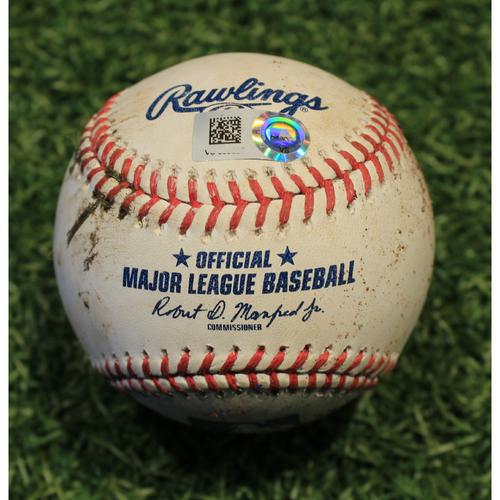 Game-Used Baseball: Gregory Polanco 619th Career Hit (PIT @ KC 9/12/20)