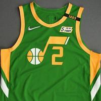 Joe Ingles - Utah Jazz - Game-Worn Earned Edition Jersey - 1st Half - 2020-21 NBA Season
