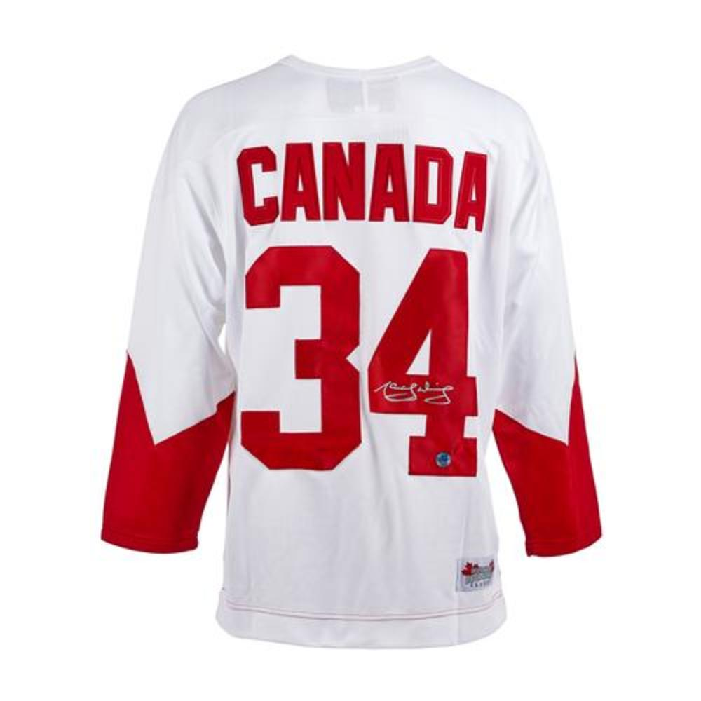 Marcel Dionne Team Canada Autographed 1972 Summit Series Jersey