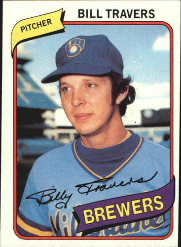 Photo of 1980 Topps #109 Bill Travers