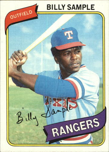 Photo of 1980 Topps #458 Billy Sample