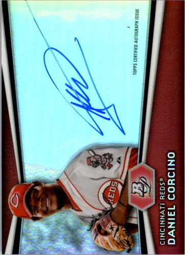 Photo of 2012 Bowman Platinum Prospect Autographs #DC Daniel Corcino