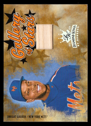 Photo of 2005 Diamond Kings Gallery of Stars Bat #11 Dwight Gooden/100
