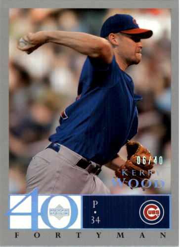Photo of 2003 Upper Deck 40-Man Rainbow #464 Kerry Wood