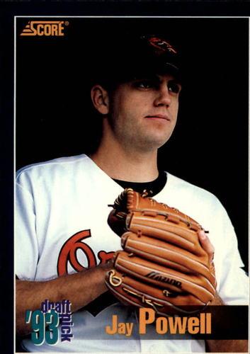 Photo of 1994 Score #575 Jay Powell RC