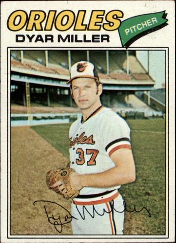 Photo of 1977 Topps #77 Dyar Miller