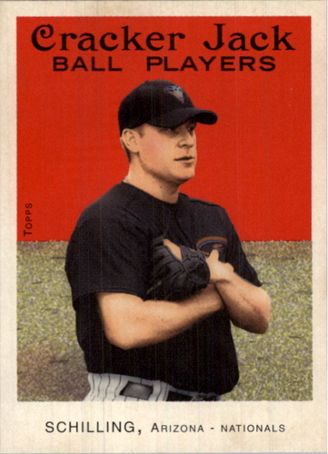 Photo of 2004 Topps Cracker Jack #140B Curt Schilling Sox SP