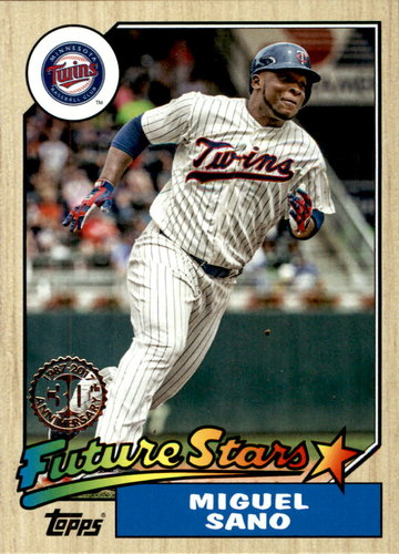 Photo of 2017 Topps '87 Topps #8716 Miguel Sano