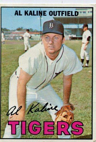 Photo of 1967 Topps #30 Al Kaline -- Hall of Famer