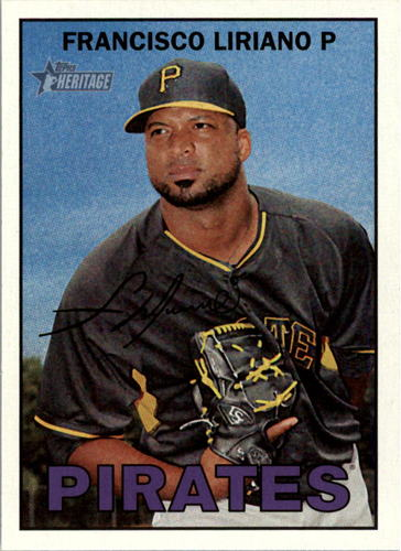 Photo of 2016 Topps Heritage #326A Francisco Liriano -- Astros post-season