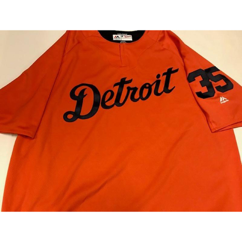 Team-Issued Justin Verlander Road Batting Practice Jersey