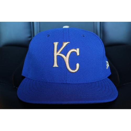 Game-Used Cap: Drew Butera (Size 7 1/8 - ARI at KC - 9/29/17)