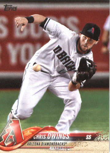 Photo of 2018 Topps #122 Chris Owings