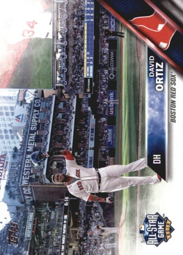 Photo of 2016 Topps Update #US254A David Ortiz AS