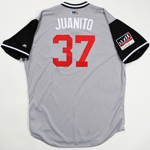 "Photo of Juan ""Juanito"" Minaya Chicago White Sox Game-Used Jersey 2018 Players' Weekend Jersey"