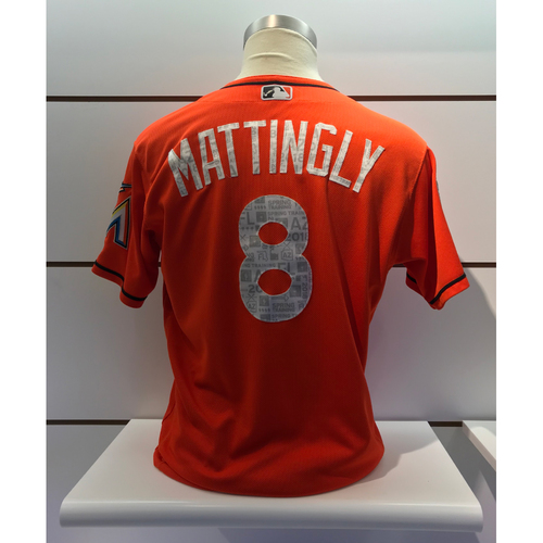 Photo of Game-Used Jersey: Don Mattingly 2018 Spring Training Jersey (Size 46)