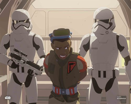Tam Ryvora and Stormtroopers