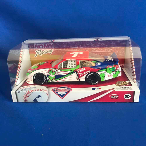 Photo of UMPS CARE AUCTION: Philadelphia Phillies Lionel Racing MLB 1:24 Scale Stock Car