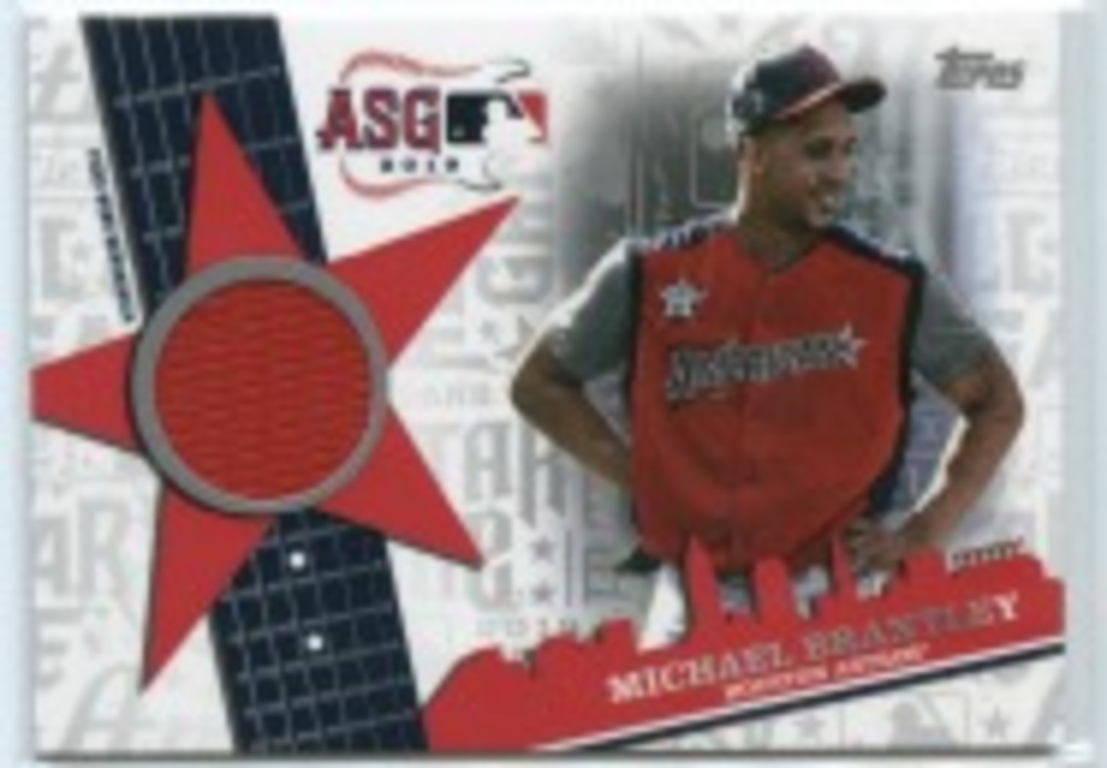 2019 Topps Update All Star Stitches #ASSRMBR Michael Brantley