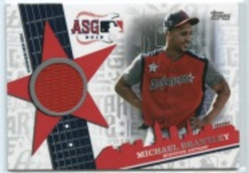 Photo of 2019 Topps Update All Star Stitches #ASSRMBR Michael Brantley