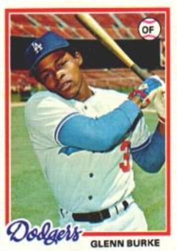 Photo of 1978 Topps #562 Glenn Burke RC